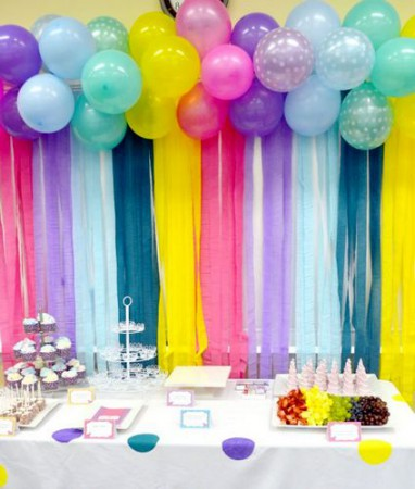 decorar con globos de cumple