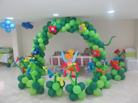 decorar con globos facilmente